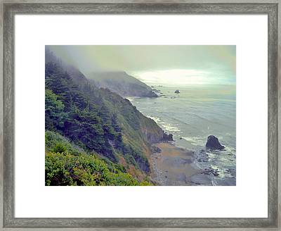 Framed Print featuring the photograph Mystic by Marilyn Diaz