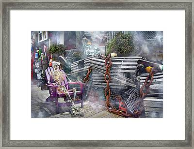 Mystic Misty Morning Framed Print by Betsy Knapp