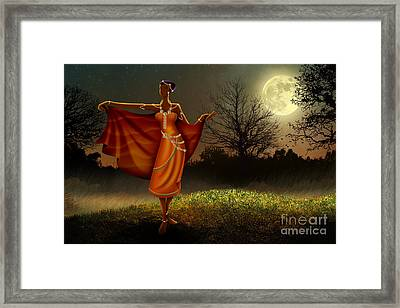 Mystic Moonlight V2 Framed Print by Bedros Awak