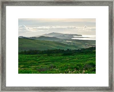 Mystic Morning Framed Print