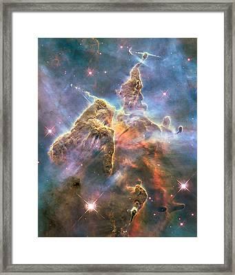 Mystic Mountain Framed Print