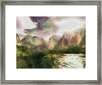 Mystic Nature Framed Print by Mario Carini