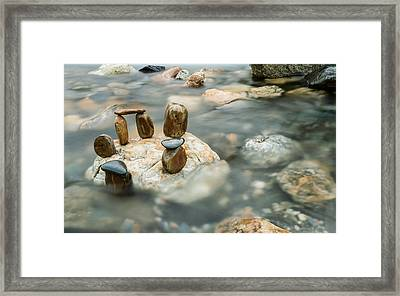 Mystic River IIi Framed Print by Marco Oliveira