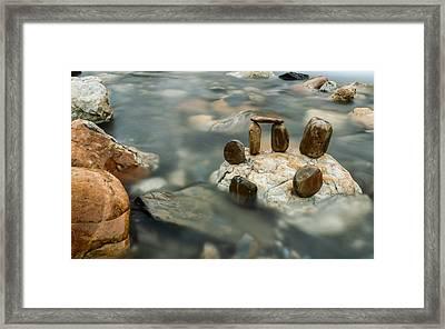 Mystic River Iv Framed Print by Marco Oliveira