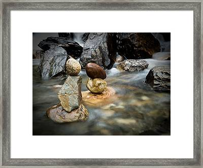 Mystic River S2 Vii Framed Print by Marco Oliveira