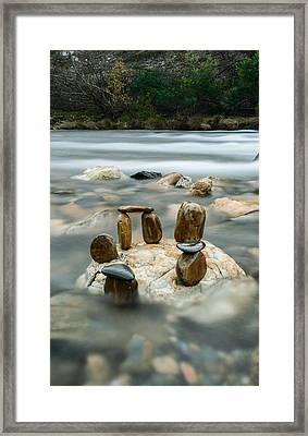 Mystic River Vi Framed Print by Marco Oliveira