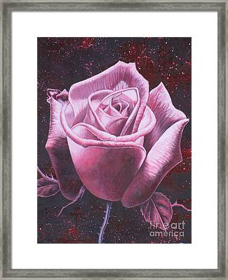 Mystic Rose Framed Print