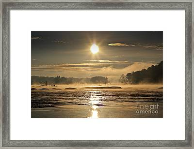 Framed Print featuring the photograph Mystic Shores by Everett Houser