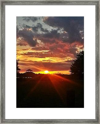 Framed Print featuring the photograph Mystic Sky  by Joetta Beauford