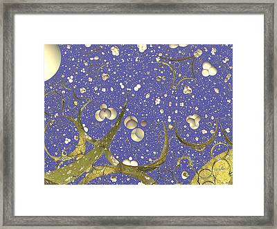 Mystic Stars Framed Print by Mick Hogan