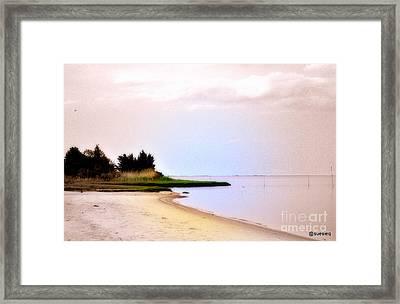 Mystic Framed Print by Sue Rosen