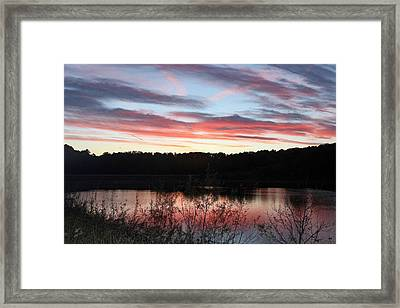 Mystic Sunset Framed Print