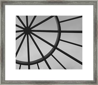 Mystic Wheel  Framed Print