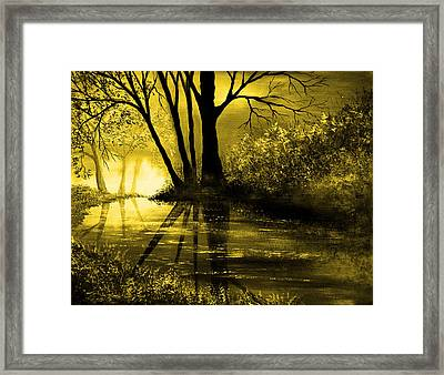 Mystical Framed Print by Ann Marie Bone