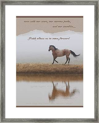 Mystical Beauty Inspirational Framed Print