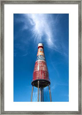 Mystical Catsup Framed Print
