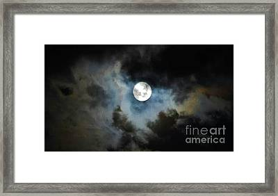 Mystical Clouds Framed Print