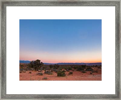 Mystical Colors Framed Print