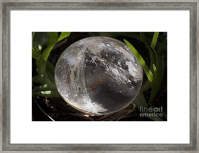 Mystical Crystal Sphere Framed Print