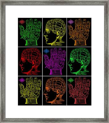 Mystical Divination Panel 2 Framed Print