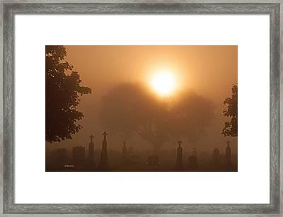 Mystical Fog Framed Print