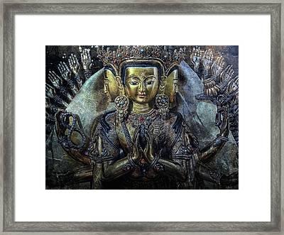Mystical India Framed Print by Joachim G Pinkawa