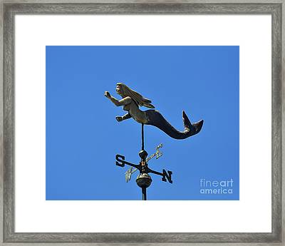 Mystical Mermaid Framed Print by Al Powell Photography USA