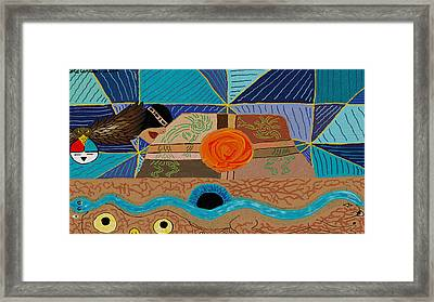 Mystical Mesa Of Majesty Framed Print by Cole Carlson