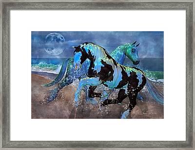 Mystical Midnight  Framed Print by Betsy Knapp