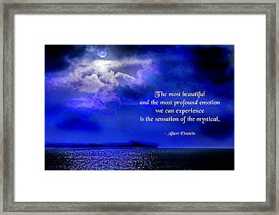 Mystical Moments Framed Print by Mike Flynn