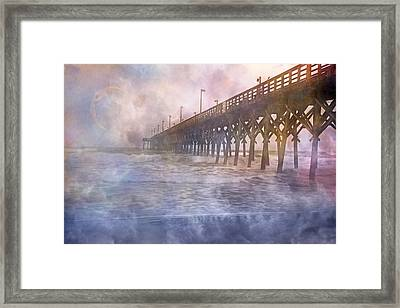 Mystical Morning Framed Print by Betsy Knapp
