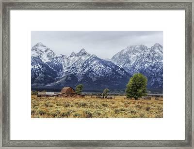 Mystical Mountain Living Framed Print