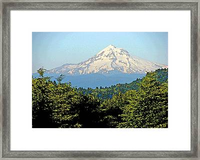 Mystical Mt. Hood Framed Print