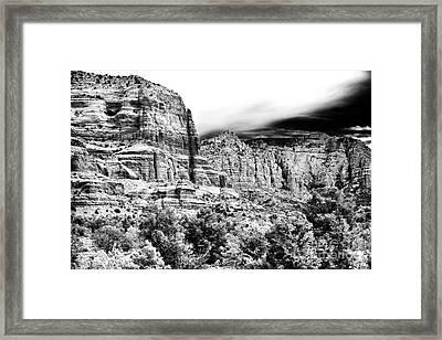 Mystical Rocks Framed Print by John Rizzuto