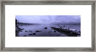 Mystical Storm Framed Print by Brad Scott