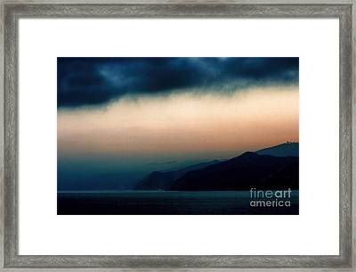 Mystical Sunrise Framed Print by Polly Peacock