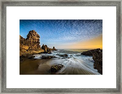 Mystical Sunset 3 Framed Print by Larry Marshall