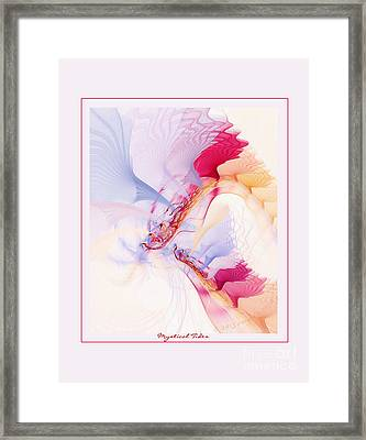 Mystical Tides Framed Print by Gayle Odsather