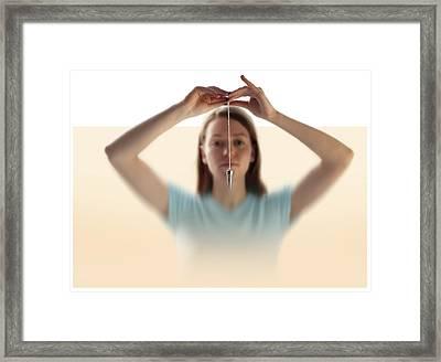Mysticism, Conceptual Image Framed Print