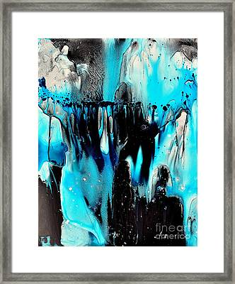 Framed Print featuring the painting Mystics by Christine Ricker Brandt