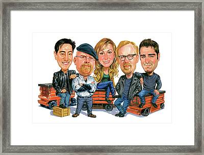 Mythbusters Framed Print