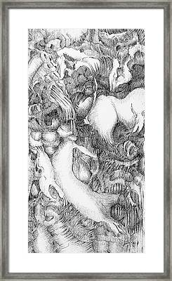 Mythic Menagery Framed Print