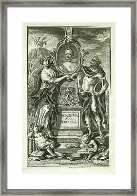 Mythical Figures Framed Print