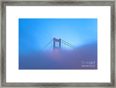 Framed Print featuring the photograph Mythical Gate by Jonathan Nguyen