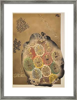 Mythical Turtle  Framed Print