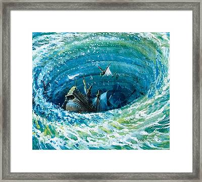 Myths And Legends Framed Print by Andrew Howat