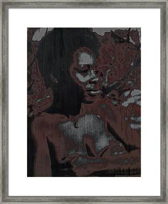 Mywoman Framed Print by Anthony Lewis