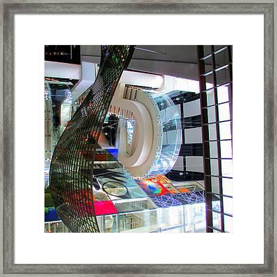 N C Roberg 7 Framed Print by Randall Weidner