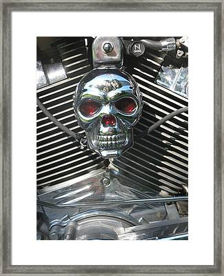 N Choke By Darryl Kravitz Framed Print by Darryl  Kravitz