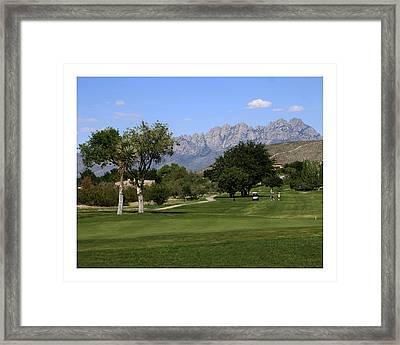 N M S U Golf Framed Print